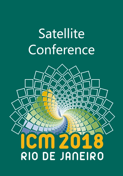 ICM 2018 Satellite Conference Badge